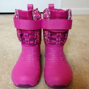Girls Merrell Snow Boots size 10